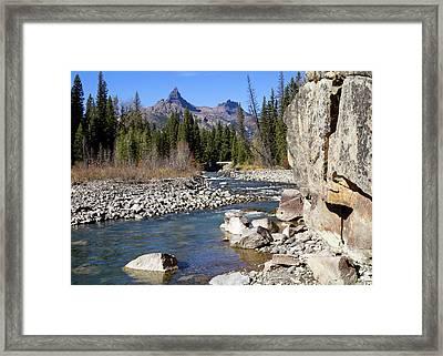 Pilots Peak And Clark Fork 1 Framed Print