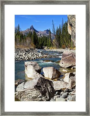 Pilots Peak And Clark Fork 2 Framed Print