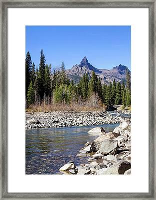 Pilots Peak And Clark Fork 5 Framed Print