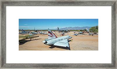 Framed Print featuring the photograph Pima Air And Space Museum by Dan McManus