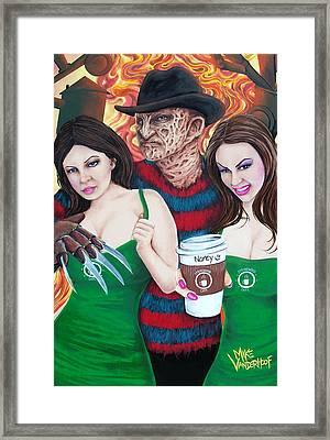 Pimp Freddy Framed Print