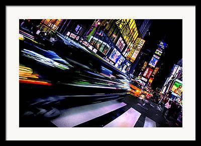 Rush Hour Framed Prints