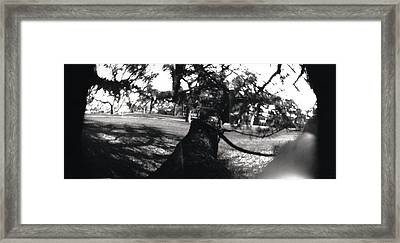 Pin Hole Camera Shot 1 Framed Print