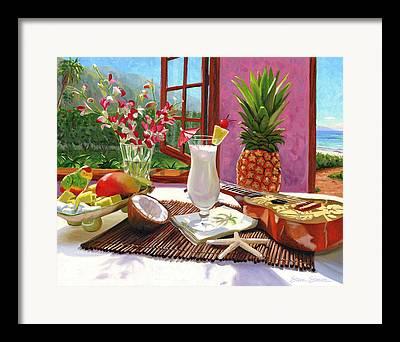 Pina Colada Framed Prints