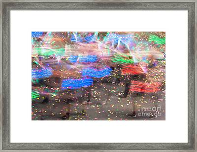 Pinata Party Framed Print by Az Jackson