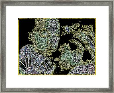 Pinch Me Framed Print by D R TeesT