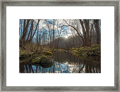Framed Print featuring the photograph Pine Creek by Dan Traun