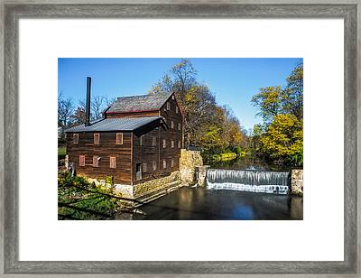 Pine Creek Grist Mill Framed Print by Paul Freidlund