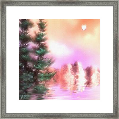 Pine Dreams Framed Print by Thelma Hendrix