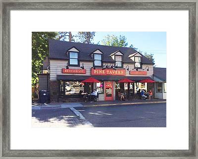 Pine Tavern Framed Print