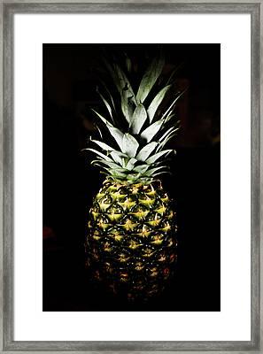Pineapple In Shine Framed Print