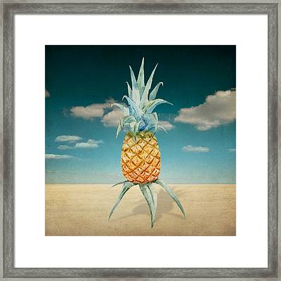 Pineapple  Framed Print by Mark Ashkenazi
