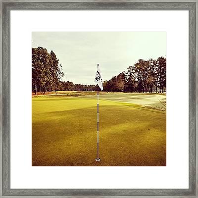 Pinehurst #2.. American Icon!! Framed Print