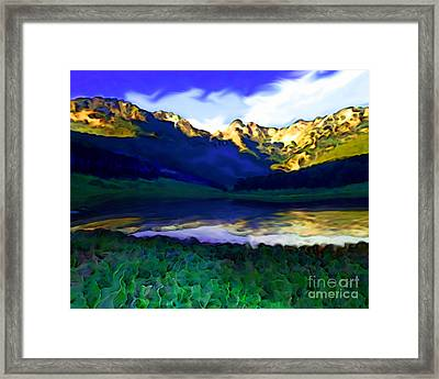 Piney Mountain Framed Print