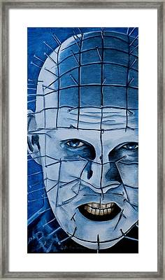 Pinhead Up Close And Personal  Framed Print