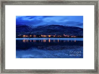 Pinilla Del Valle Framed Print by Hernan Bua