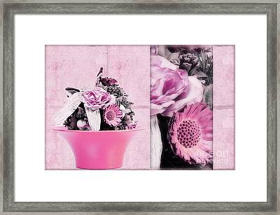 Pink Framed Print by Angela Doelling AD DESIGN Photo and PhotoArt