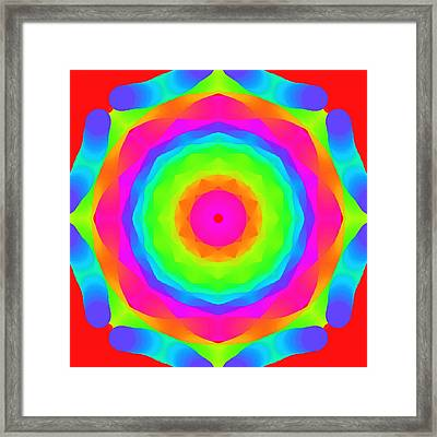 Pink Ball Framed Print by Floyd Snyder