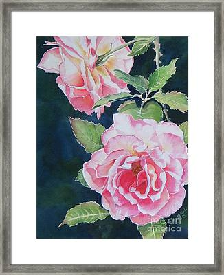Pink Beauties  Sold  Original Framed Print