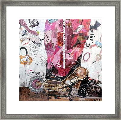 Pink Boot 2 Framed Print by Suzy Pal Powell