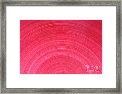Pink Ceramic Texture Background Framed Print by Radu Bercan