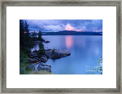 Pink Cloudbreak Framed Print