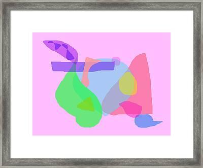 Pink Dream Framed Print