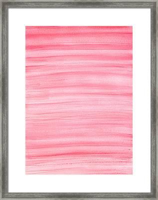 Pink Framed Print by Eric Forster