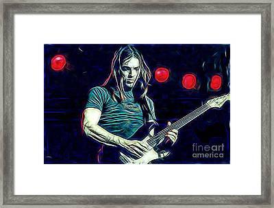 Pink Floyd David Gilmour Collection Framed Print