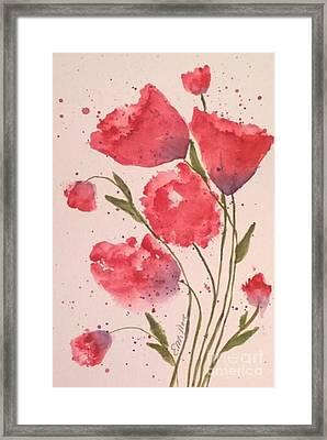 Pink For Her Framed Print