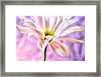 Pink Gemini Framed Print by Krissy Katsimbras
