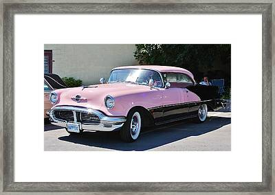 Framed Print featuring the photograph Pink Is A Color by Al Fritz