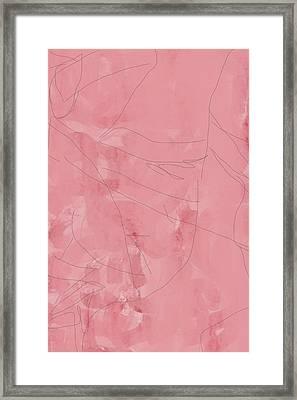 Pink Framed Print
