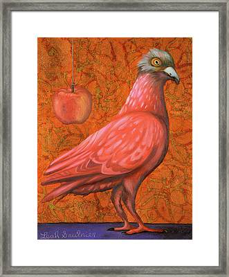 Pink Lady Framed Print by Leah Saulnier The Painting Maniac