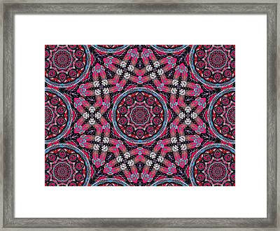 Pink Mandala Framed Print by Natalie Holland