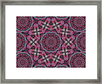 Pink Mandala Framed Print