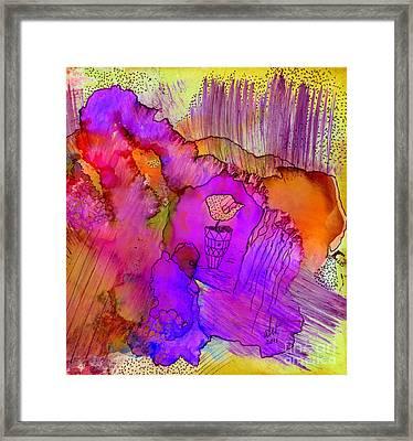 Pink Petals I Framed Print by Angela L Walker