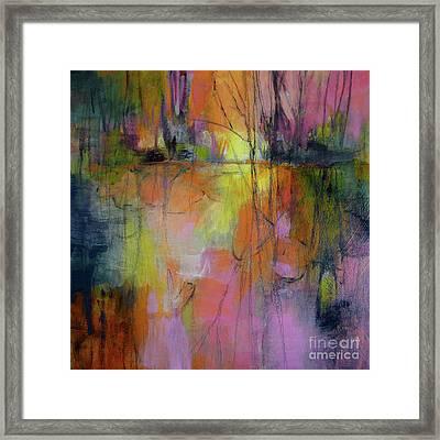 Pink Pleasure Framed Print