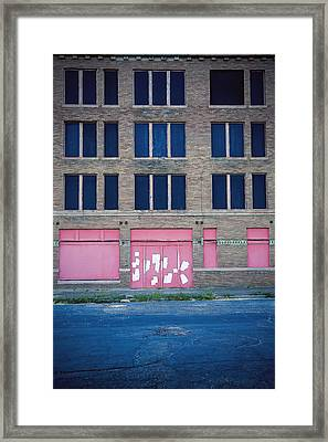 Framed Print featuring the photograph Pink Promises by Trish Mistric