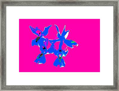 Pink Provence Orchid Framed Print