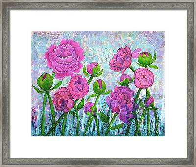 Pink Punch Framed Print