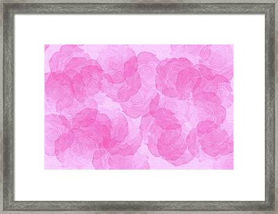 Pink Roses. Framed Print by Irina Chernysheva