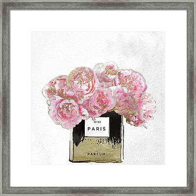 Pink Scented Framed Print by Mindy Sommers
