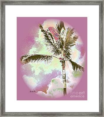 Pink Skies Framed Print