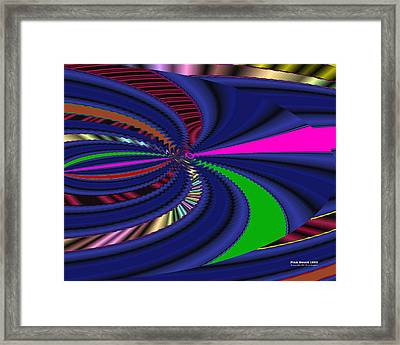 Pink Sword 1220 Framed Print
