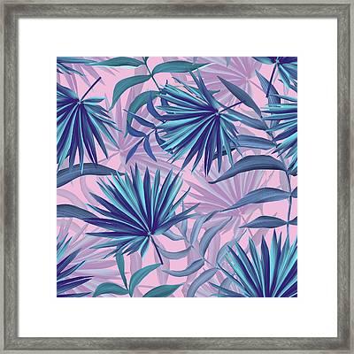 Pink Tropic  Framed Print