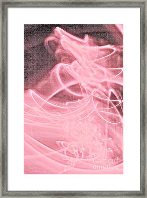 Framed Print featuring the painting Pink by Xn Tyler