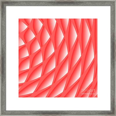 Pinked Framed Print
