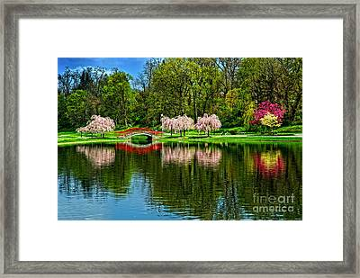 Pinks And Reds Framed Print