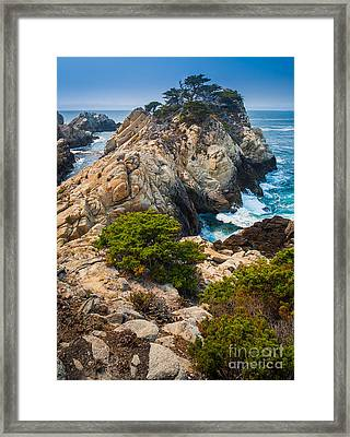 Pinnacle Point Framed Print by Inge Johnsson